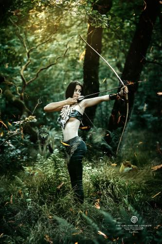 The Girl and the Longbow