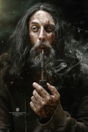 The pipe-smoking prophet